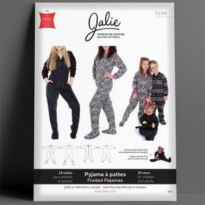 Jalie - Footed Pajamas