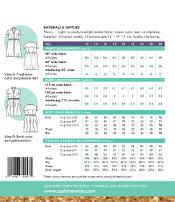 Cashmerette - Lenox Shirtdress